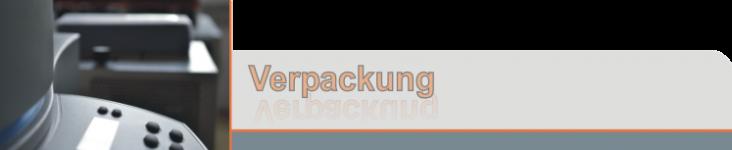 Verpackungsmaschinen