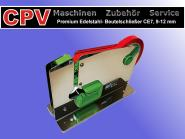 Premium Edelstahl- Beutelschließer, Bandbreiten: 9-12 mm, Modell CE7
