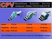 Premium Handspendegerät für Haft- Etiketten (20-100 mm Breite; 20-60 mm Länge)