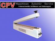 Impuls- Folienschweißgeräte mit Messer/ Haltemagnet, diverse Größen