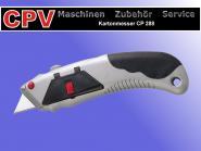 Premium Kartonmesser/ Teppichmesser mit Antirutschgriff, 5 Ersatzklingen(Cutter)