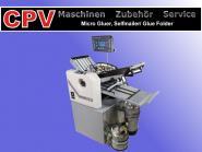 Selfmailer/ Glue Folder/ Falzmaschine, Modell Microgluer