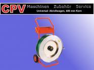 Hochwertiger Abrollwagen für Umreifungsband (Kunststoff/Stahl), Kern: 406 mm