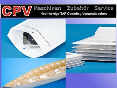 100 Luftpolster Versandtaschen, Typ C/D, hochwertige TAP Comebag