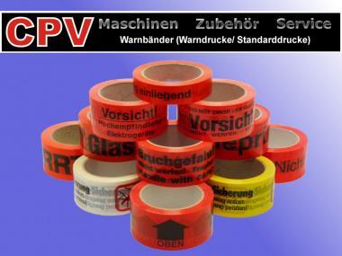 Warnbänder/ Warndrucke