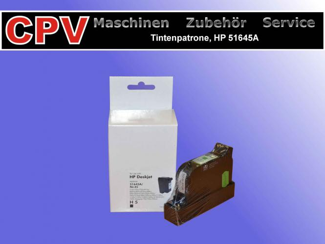 Tintenpatrone HP 51645A, Normal- Trocknend